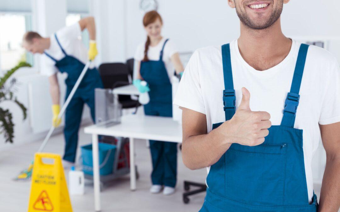 Få udført professionel erhvervsrengøring i Midtjylland