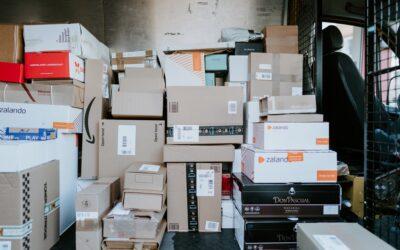 Udvælg de rette papkasser til forsendelsen